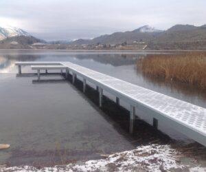 all steel dock